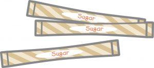 砂糖のスティック