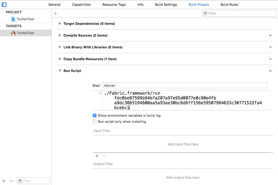 Xcodeでプロジェクトをビルド