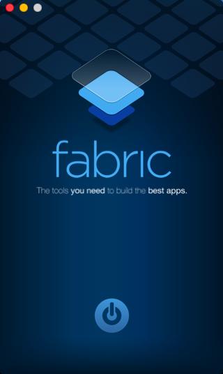Fabric起動画面