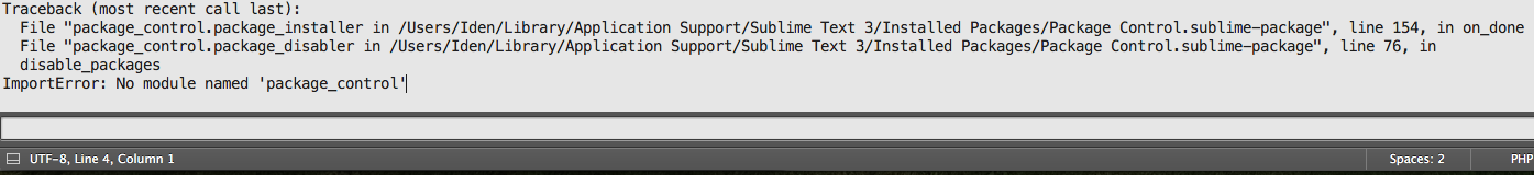 Sublime Text の Package Control でエラー