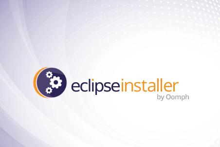 Eclipse Installer のスプラッシュ画面
