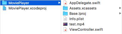 XcodeプロジェクトのディレクトリをFinderで表示