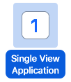 Xcode の Single View Application のテンプレート
