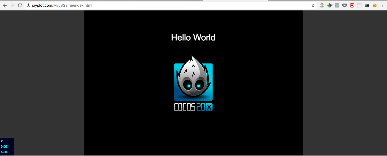 ブラウザアプリとして動作させたCocos2d-xのアプリ