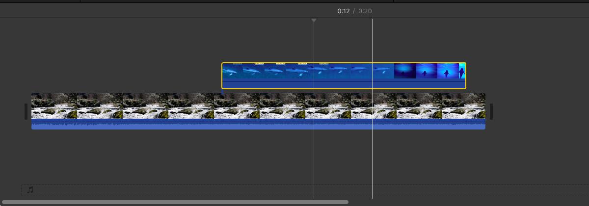 動画の再生タイミングや時間を調整