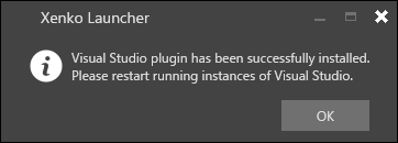 Visual Studioの設定完了