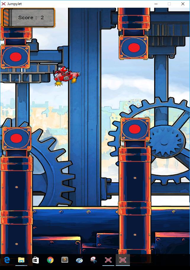 Xenkoのサンプルゲーム画面