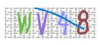 CAPTCHAの画像の例