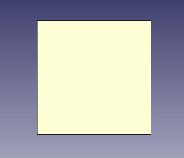 立方体の3Dパーツを表示した例