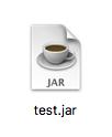 Javaの実行可能な形式であるjar