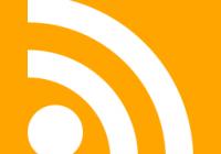 RSSフィードのアイコン