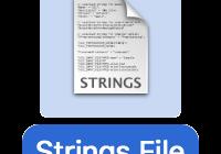 Xcodeで作成されるstringsファイル