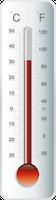 温度計に表示される温度の定義