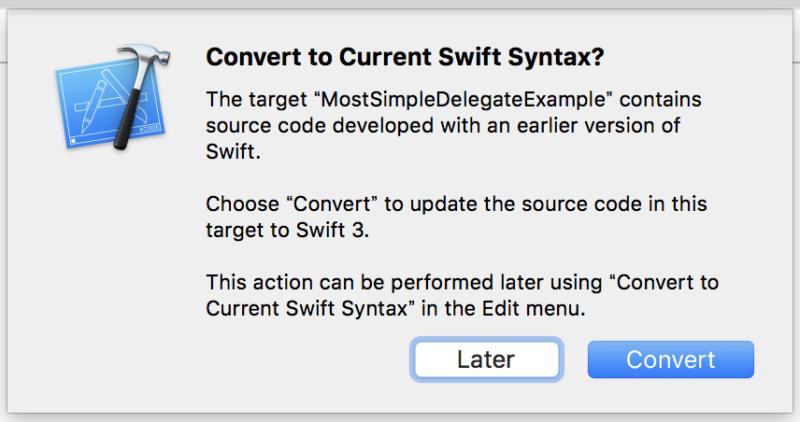 Xcode8でSwiftのバージョンを3に更新する