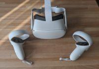 OculusQuest2のコントローラとゴーグル