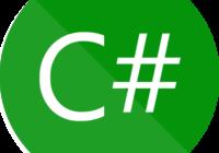 プログラミング言語C#のロゴ