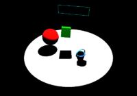 three.jsで作成した3Dモデルを表示するサンプルシーン