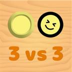 無料アプリ 3vs3対戦ホッケー