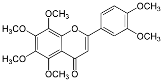 ノビレチンの化学構造