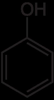 フェノールの化学構造