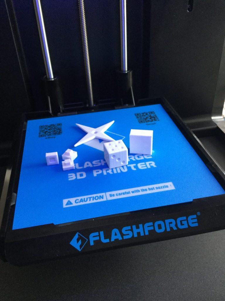 3Dプリンターで出力したモデル