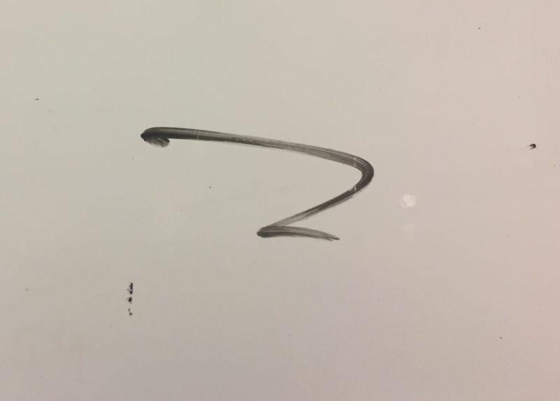 ホワイトボード専用ペン以外で書いてしまったインク